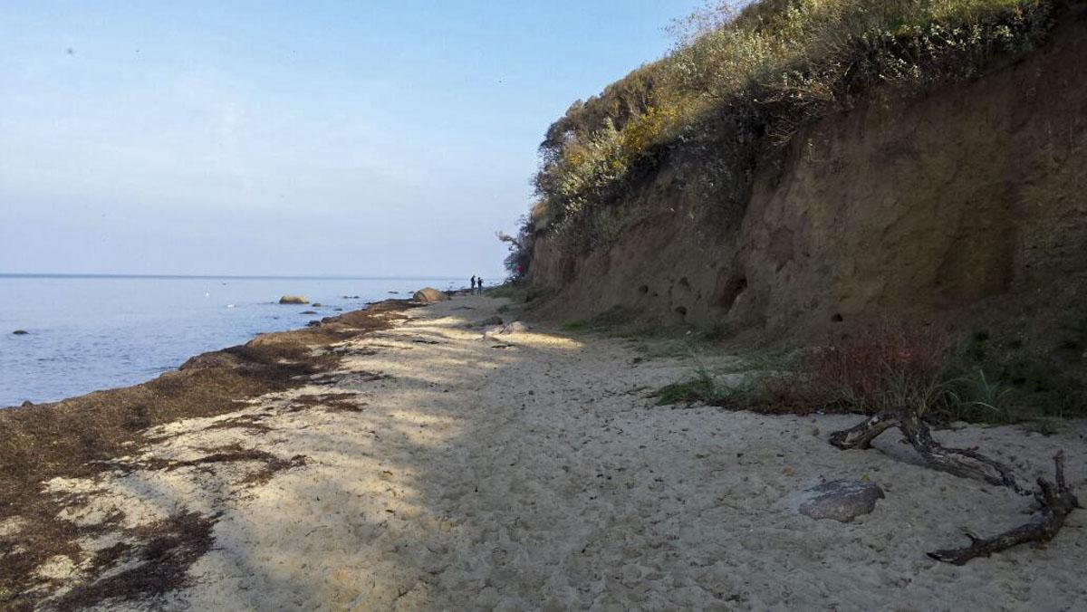 Ostsee mit Steilhang
