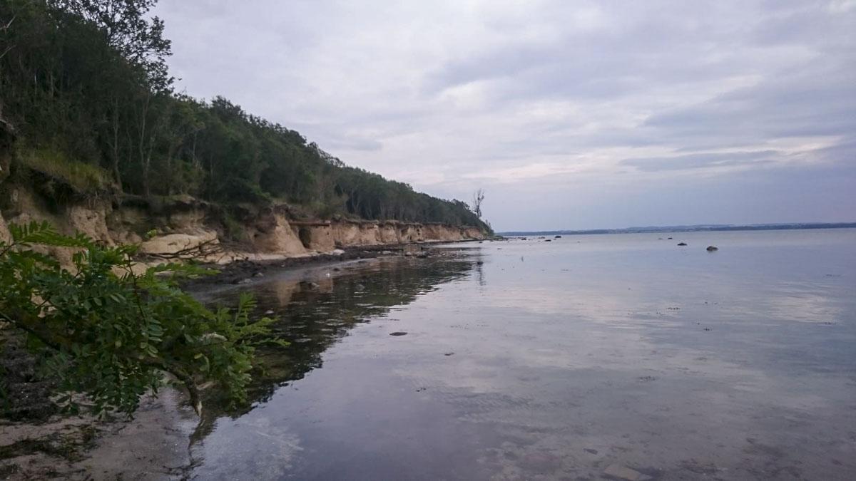 Steilkueste Insel Poel - Wismarscher Bucht